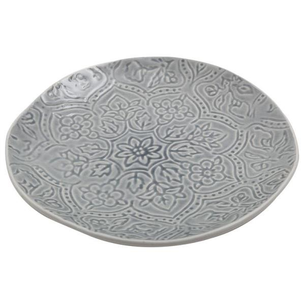 Essteller PREGO schwarz D Speiseteller 27cm Keramik A.U Maison