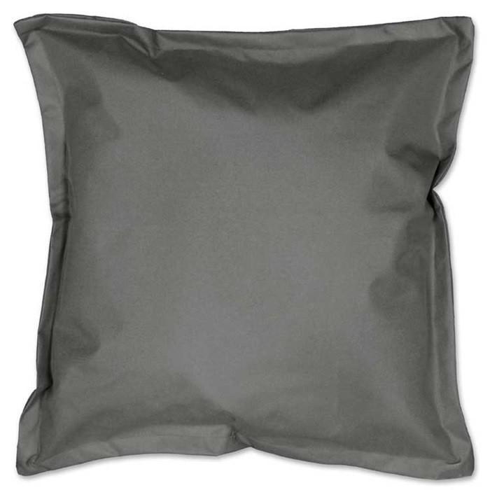 4er Set Outdoor Kissen Unique Dark Grey dunkelgrau 50x50cm wasserabweisend