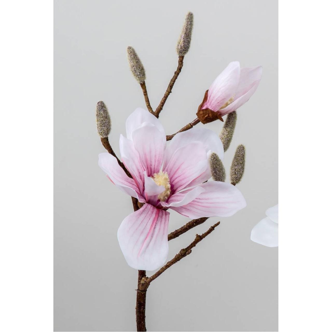 cm rosa Formano Bund Lilien mit 4 Blüten H künstliche Lilien