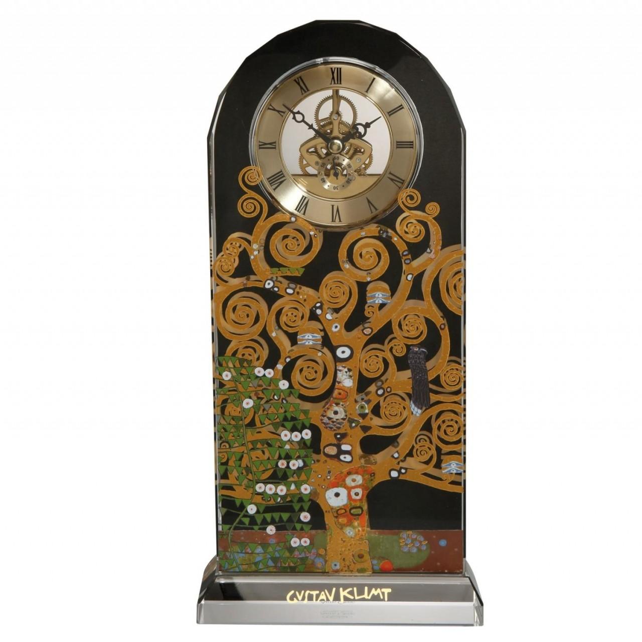 2er Set Gustav Klimt Sektglas Der Lebensbaum H 26cm 200ml Goebel