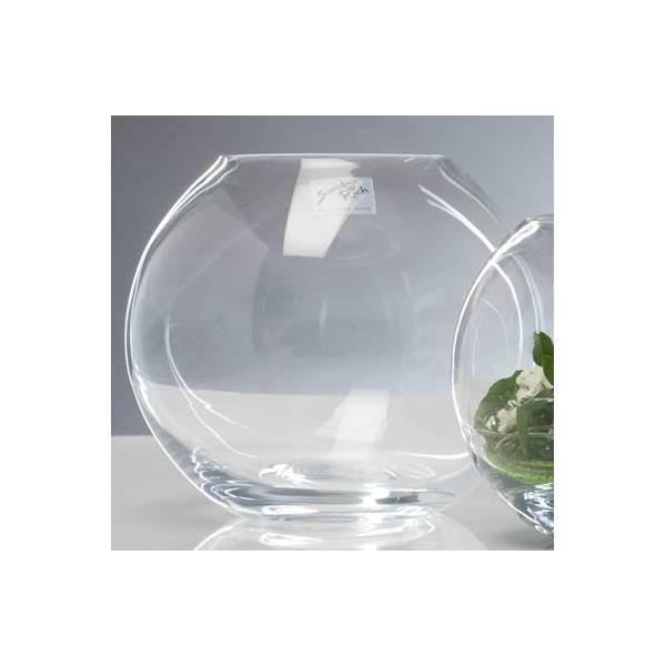 14cm Sandra Rich Teelichthalter GLOBE KUGEL Glas H Kugelvase 13,5cm D