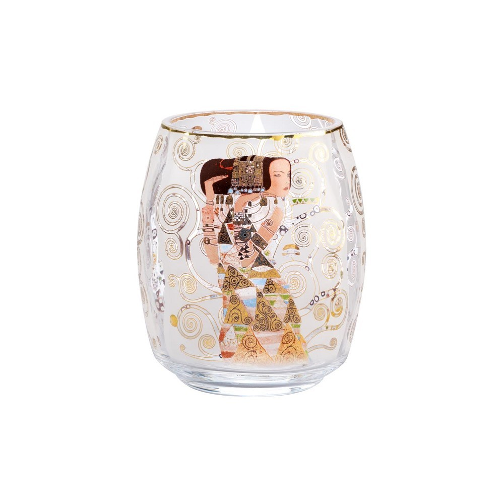 24cm gold Goebel Artis Orbis Gustav Klimt Sektglas DIE ERWARTUNG H