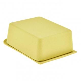 Butterdose gelb Bambus Magu NATUR DESIGN WA