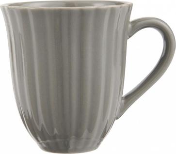 Kaffeebecher, Tasse MYNTE Mustard Granite für 300ml Steingut Ib Laursen WA