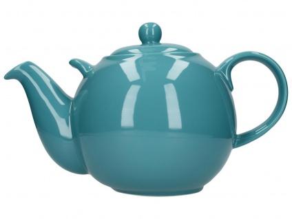 Teekanne London Pottery Globe aqua hellblau für 3000ml Keramik Creative Tops