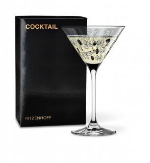 Ritzenhoff COCKTAIL Martiniglas, Cocktailglas, Blätter by Selli Coradazzi 2019