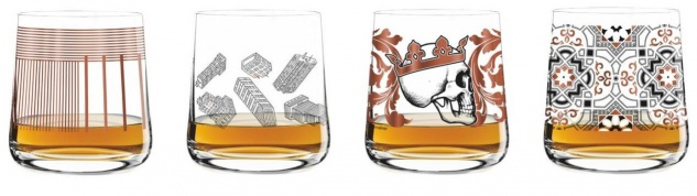 4er SET Ritzenhoff NEXT WHISKY Whiskygläser Trinkgläser Serie 2 2017