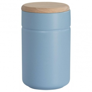 Vorratsdose Teedose TINT Hellblau Holzdeckel 900 ml H. 17cm Maxwell & Williams
