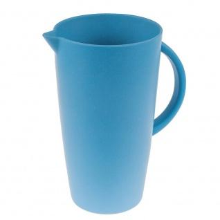 Krug, Kanne, Karaffe 2L new blue blau Bambus Magu NATUR DESIGN