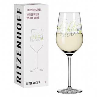 Ritzenhoff Herzkristall WHITE Weißweinglas 06 WHITE WINE Stockebrand 2018