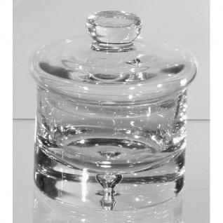 Vorratsdose, Bonboniere Kristallglas klar rund 13cm Formano