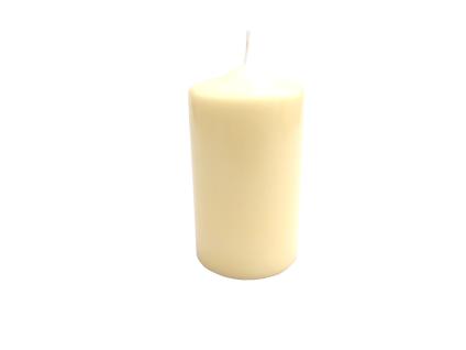 Kopschitz Stumpenkerze, 150 x 80 mm, vanilla, Brenndauer: ca