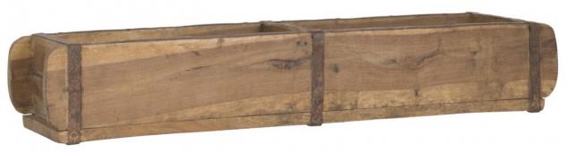 Aufbewahrung Ziegelform UNIKA 2-Fach unterteilt L 57cm B 15cm Holz Ib Laursen