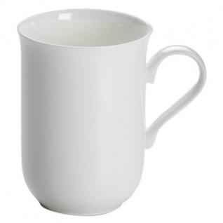 Becher, Tasse CASHMERE VILLA 330ml weiß rund Porzellan Maxwell & Williams