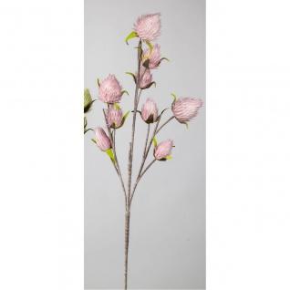 künstlicher Blütenzweig L. 110cm rosa Formano Kunstblumen