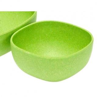 Dippschälchen, Schüssel grün eckig 10x10cm Magu NATUR DESIGN