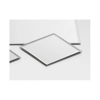 72er Set Spiegelplatten Dekospiegel Tischspiegel 15x15cm quadratisch Sandra Rich