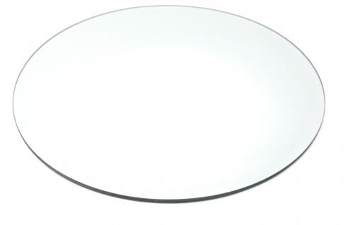 Spiegelplatte, Deko Spiegel, Tischspiegel MIRROR rund D. 40cm Glas Sandra Rich