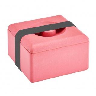 Lunchbox, Brotdose himbeer rot 13x13cm Magu NATUR DESIGN WA