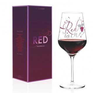 Ritzenhoff RED Design Rotweinglas by Kathrin Stockebrand 2018