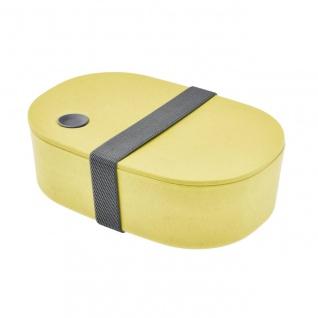 Lunchbox, Brotdose oval gelb cm Magu NATUR DESIGN WA