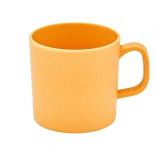 Henkelbecher, Tasse Bambus orange für 350ml Magu NATUR DESIGN WA