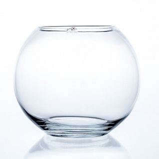 2er Set Kugelvasen Glaskugeln GLOBE H. 20, 5cm D. 25cm kar rund Sandra Rich
