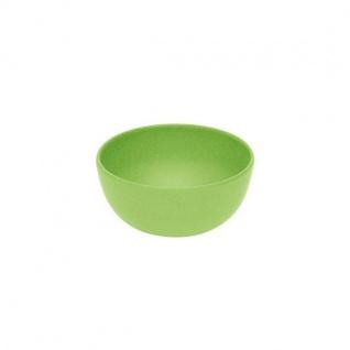 4er Set Dipschälchen, Schalen grün Ø 10cm H. 4, 5cm Bambus Magu NATUR DESIGN