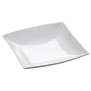 Suppenteller EAST MEETS WEST 21, 5x21, 5cm eckig weiß Porzellan Maxwell & Williams