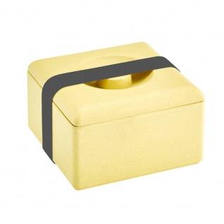 Lunchbox, Brotdose gelb 13x13cm Magu NATUR DESIGN WA