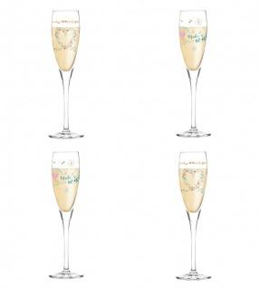 Ritzenhoff 4er Set Pearls Edition Proseccoglas, Sektglas by Kathrin Stockebrand