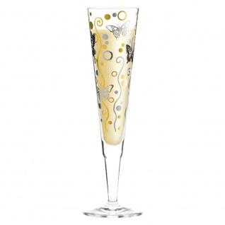 Ritzenhoff Champus Champagnerglas SCHMETTERLINGE by Ingrid Robers 2012