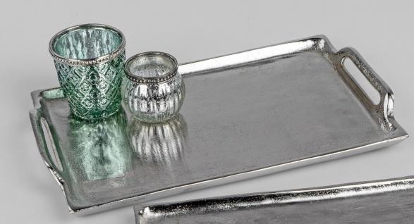 Formano Stern Teller Tisch Glas Deko Sternenform braun Weihnachten Ø 33cm