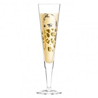 Ritzenhoff CHAMPUS Champagnerglas Leopardenmuster by Peter Pichler 2020