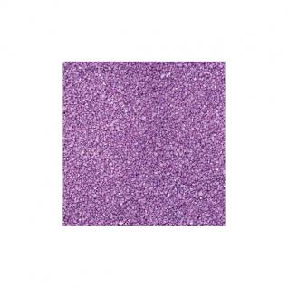 Farbsand, Dekosand 0, 5mm aubergine lila 1kg im Beutel (1, 95â?¬ / kg) EuroSand