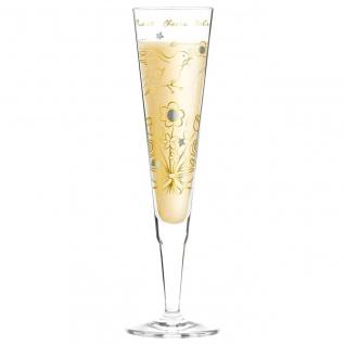 Ritzenhoff CHAMPUS Champagnerglas VOGEL by Shari Warren 2018