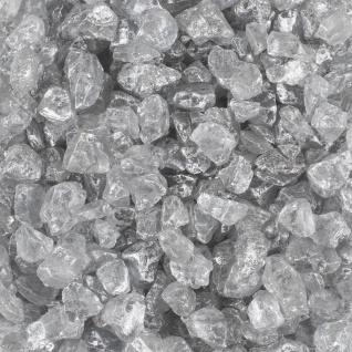 Metallic Glassteine, Zierkies 4-10mm (1L=9EUR) silber 500ml Dose EUROSAND