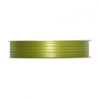 Satinband, Schleifenband, Dekoband 3mm, grün, 50m Rolle (1m=0, 10 EUR) Halbach