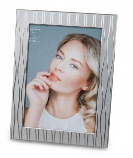 Fotorahmen, Bilderrahmen WELLEN silber für 13x18cm Metall Formano
