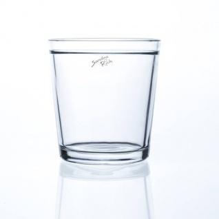 Glas Orchideentopf, Blumentopf H. 13, 5cm D. 12, 5cm rund klar Sandra Rich