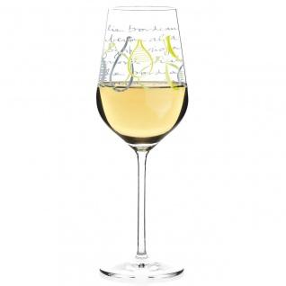 Ritzenhoff WHITE Design Weißweinglas Virginia Romo 2018
