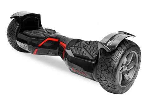 2x 350W Smarty Hoverboard 8.5 Zoll Casablanca MIT APP STEUERUNG - in BLACK - Brushless Balanceboard