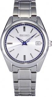 Seiko Uhr SUR457P1 Quraz Werk Edelstahl Uhr 140th Anniversary Limited