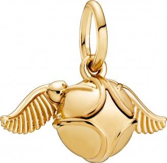 Pandora Harry Potter Charm Anhänger 368618C00 Golden Snitch Shine
