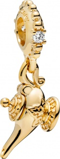 PANDORA Disney Shine 768730C01 Charm Anhänger Magic Lamp Magische