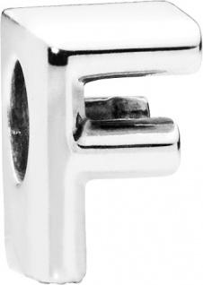 PANDORA Charms 797460 Alphabet Buchstabe F Silber 925