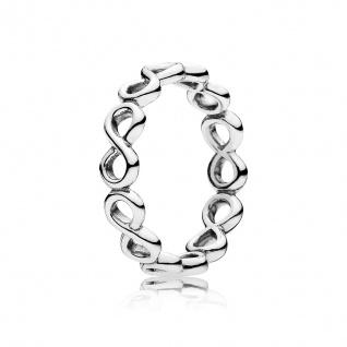 PANDORA Ringe 190994 Unendlichkeit Infinity Symbol Silber