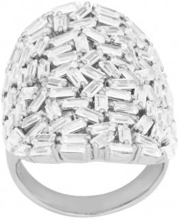 JOANLI NOR 145083 Ring Agga Sterling Silber 925 rhodiniert ca.80