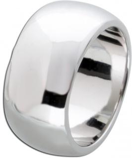 Breiter Silber Ring Damen Herren Unisex Silberring Sterling Silber 925