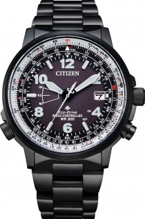 Citizen Uhr CB0245-84E ECO-Drive Herrenuhr Schwarz